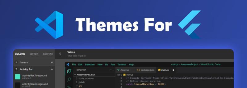الصورة البارزه لـ افضل themes لمحرر vscode لمطوري فلاتر